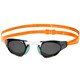 speedo Fastskin Prime Mirror Svømmebriller orange/sort